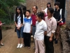 Chinese student receiving a scholarship to attend school